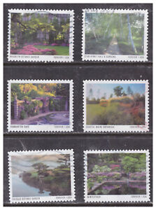 United States, 5461-70, USED, 2020, FVR (55c) American Gardens, OFF PAPER