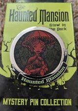 Disney Haunted Mansion Parasol Girl Glow in the Dark Mystery Box Pin