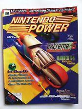 1997 OCT NINTENDO POWER MAGAZINE #101 MADDEN 64 POSTER EXTREME-G EXCELLENT