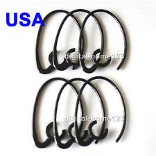6pcs Black Ear Hook loop For Jabra BT2010 BT8040 BT185 BT2035 BT2045 BT2040 USA