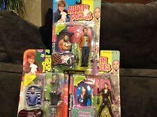 Vintage Austin Powers Action Figures: Mini Me +VANESSA + Scott Evil~Brand New~