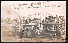 Dartford. Tramway Opening with Decorated Trams.