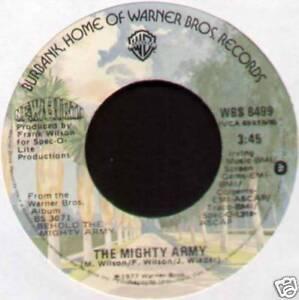 """NEW BIRTH ~ MIGHTY ARMY / HURRY HURRY ~ 1976 US VINYL 7"""" SINGLE"""