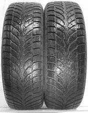 2 2056016 Bridgestone Runflat 205 60 16 Hiver Neige utilisé une partie usée pneus 205/60
