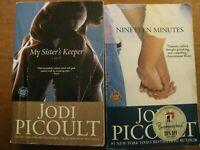 Lot of 2 Novels MY SISTER'S KEEPER / NINETEEN MINUTES - Jodi Picoult (Paperback)