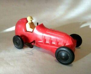 Vintage Marx Wind-up Indy Car Racer Toy (Red)