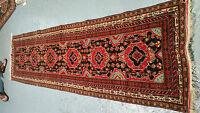 oriental persian carpet rug 100% handknotted 100% WOOL RUNNER 282x80 cm