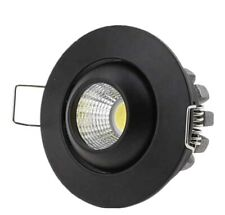 Mini Spot Led 3W Orientable Encastrable Blanc Ou Noir
