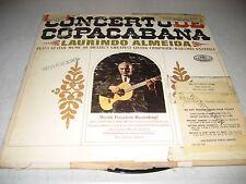 LAURINDO ALMEIDA RADAMES GNATTALI CONCERTO DE COPACABANA LP VG+ Capitol P-8625