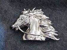 Silver Horse Vintage Belt Buckle