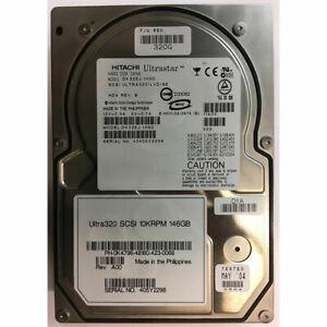 "DK32EJ-14NC - Hitachi 146GB 10K  RPM SCSI 3.5"" HDD U320 80 pin"