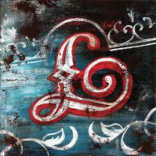 "36""x36"" L by RODNEY WHITE LETTER ALPHABET GICLEE CANVAS"