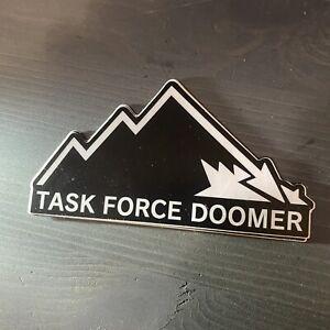 Task Force Doomer Sticker The Fall   TFD Wrmfzy SupDef Crye Ferro Spiritus