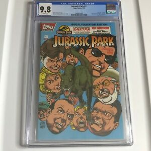 Jurassic Park #2 Topps 1993 CGC 9.8 Special Collectors Edition Kane Perez Cover