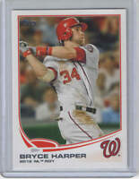 2013 Topps Bryce Harper National League Rookie Of The Year #369 Nationals ROY