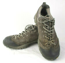 ASOLO Agent GV Mens 11 Gray Leather Hiking Trail Sport Sneakers Shoes