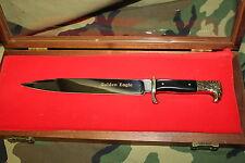 Kershaw Golden Eagle WWII Style German Dagger Knife Solingen Germany