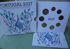 Portugal Off. Euro Kursmünzensatz 2017 KMS mit 1 Cent bis 2 Euro Blister BU BNC
