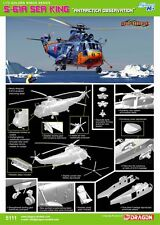 """1/72 Cyber Hobby S-61A SeaKing """"Antracticia Observation"""" #5111"""