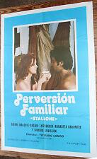 Utilisé - Poster de Cinéma PERVERSION FAMILIALE Vintage Movie Film - Occasion