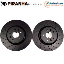 MAZDA 3 1.5 2.0 2.2 SKYACTIV-D SKYACTIV-G 13-17 REAR BRAKE DISCS BLACK 265MM