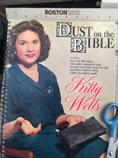 for the Kitty Wells - Dust On The Bible fan / Vintage Album Cover Notebook WOW