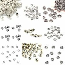 Findings MBX0050 NF 500 x 2mm Round Spacer Beads Silver Beads Metal