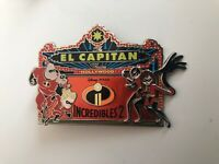 Disney DSF DSSH Pin Incredibles 2 El Capitan Marquee LE400 Pins