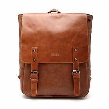 Women Leather Backpack School Bag Shoulder Bookbag Travel Student Laptop Carry