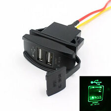 Car Truck Boat Accessory 12V 24V Dual USB Charger Power Adapter Outlet Hoc