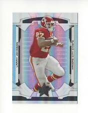 2008 Leaf R&S Longevity Parallel Black #49 Larry Johnson Chiefs 13/25
