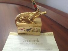 "Treasures Of The Pharaos Collection ""Sobek"" The Crocodile God"