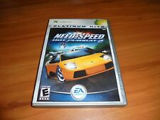 Need for Speed: Hot Pursuit 2 (Microsoft Xbox, 2002) Used Complete Original