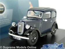 AUSTIN SEVEN 7 RUBY MODEL CAR 1:43 SCALE DARK BLUE OXFORD DIECAST 43RUB002 K8