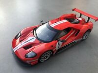 """Carrera Digital 132 30873 Ford GT Race Car """" Time Twist """" Karosse+Chassis LICHT"""