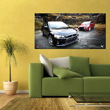 MITSUBISHI LANCER EVOLUTION EVO X MR LARGE AUTOMOTIVE HD POSTER 24x48in