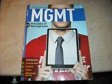 MGMT PRINCIPLES OF MANAGEMENT CHUCK WILLIAMS