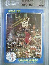 1984-85 Star Court Kings 5x7 #26 Michael Jordan XRC Rookie BGS 9 9/9/9/8.5 TRC