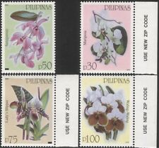 Philippines 2003 Orchids/Flowers/Plants/Nature/Conservation 4v set (n44499)