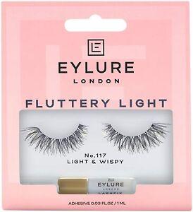 Eylure Fluttery Light Lashes - No.117 (Light & Wispy)