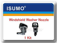 1 Kit Windshield Washer Nozzle Front Fits: Ford F250 F350 F40 F550 Super Duty
