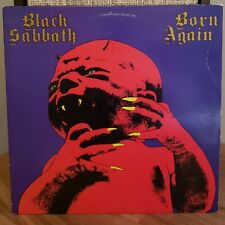 Black Sabbath Vinyl Lp Born Again 1983 Warner Bros. with Original Inner Sleeve