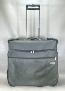 Briggs & Riley U78 Large Wardrobe Rolling Wheeled Garment Bag Suitcase Luggage