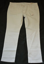 S.Oliver Shape Tube Stretch Jeans Hose XL 46 L30 NEU Weiß