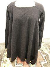 Sundance Cashmere Sweater Women's Gray Brand New M