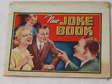 Dr. Miles Nuevo Joke Book Nervine Publicidad Libro Circa 1920-30