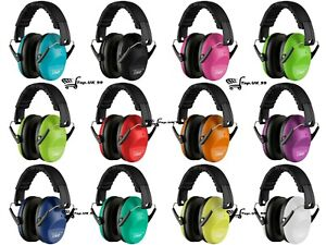 Vanderfields Folding Noise Reduction Ear Defenders Earmuffs with Autism for Kids