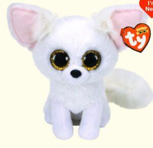 TY Beanie Boos Medium: PHOENIX The White Fox  - New