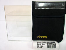 "Tiffen 4x5.65"" Coral 1/2 Soft-Edge Graduated Filter (Vertical Orientation) SE"