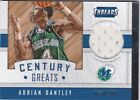2015-16 PANINI THREADS BASKETBALL ADRIAN DANTLEY CENTURY GREATS RELIC #53/199